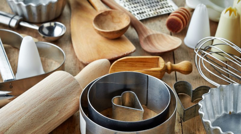 kitchen gadgets sitting on a table