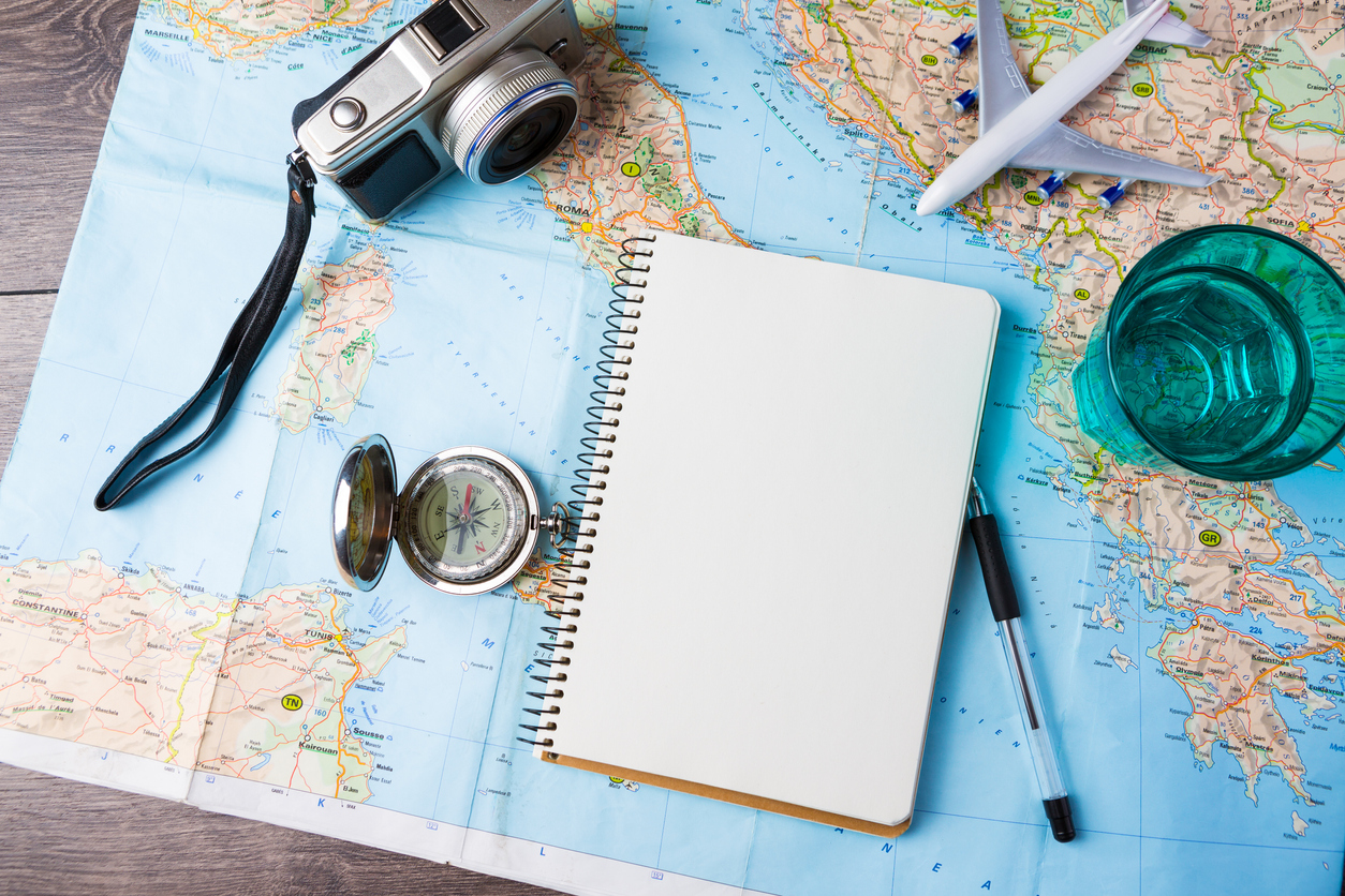 A travel journal for frequent travelers.